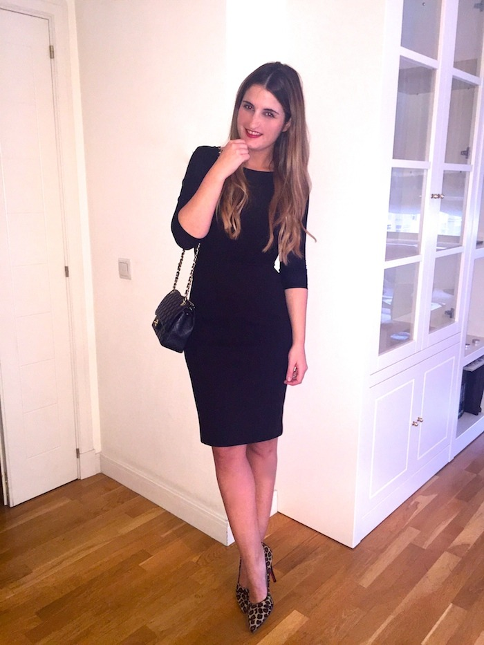 l.k.bennett dress chanel bag mascaró shoes amaras la moda. 5