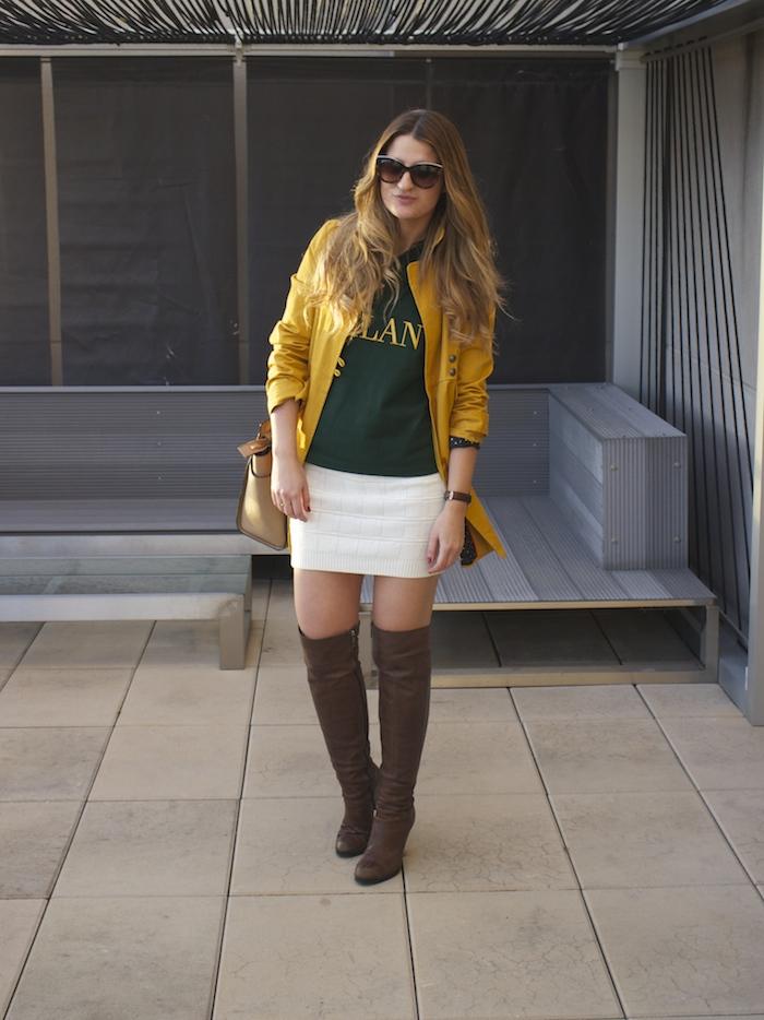 polo ralph lauren compañia fantastica skirt Riverside trench pons quintana boots michael kors bag amaras la moda 3