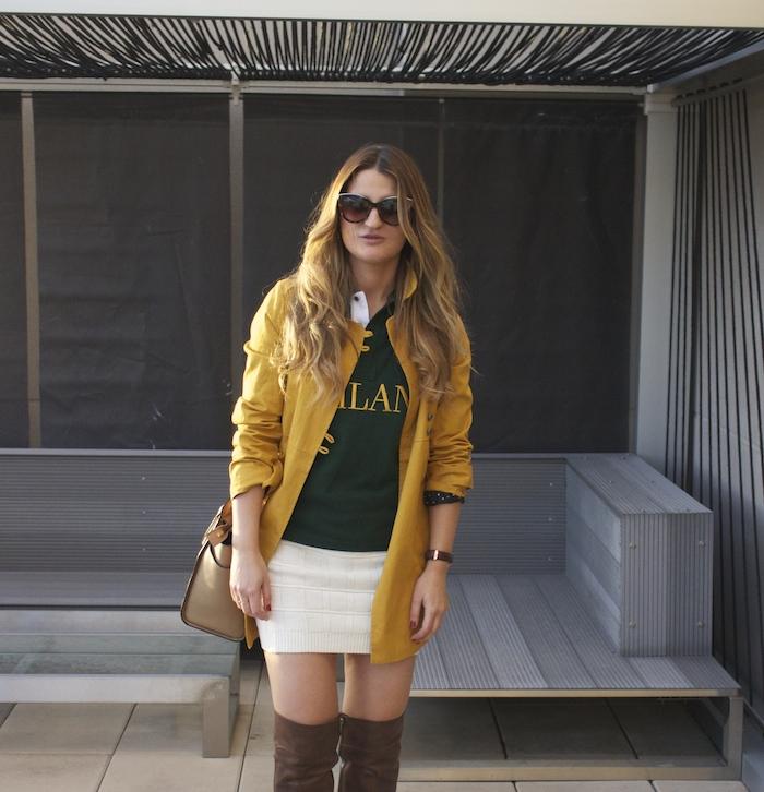 polo ralph lauren compañia fantastica skirt Riverside trench pons quintana boots michael kors bag amaras la moda 6