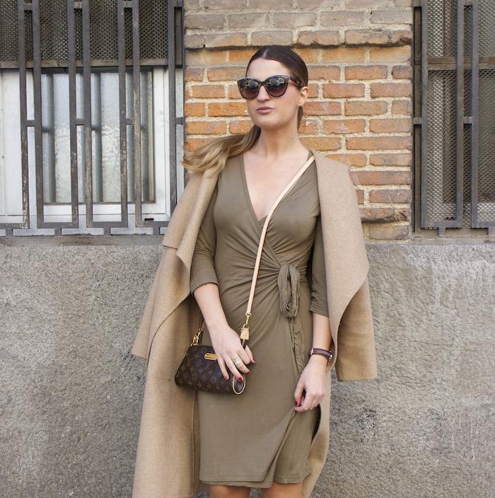 venca dress chloe borel sofia ante stiletto zara coat pochette eva louis vuitton amaras la moda 2