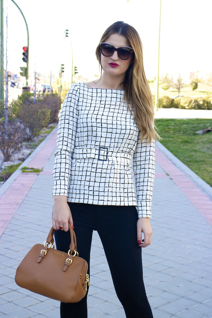 Plaid look