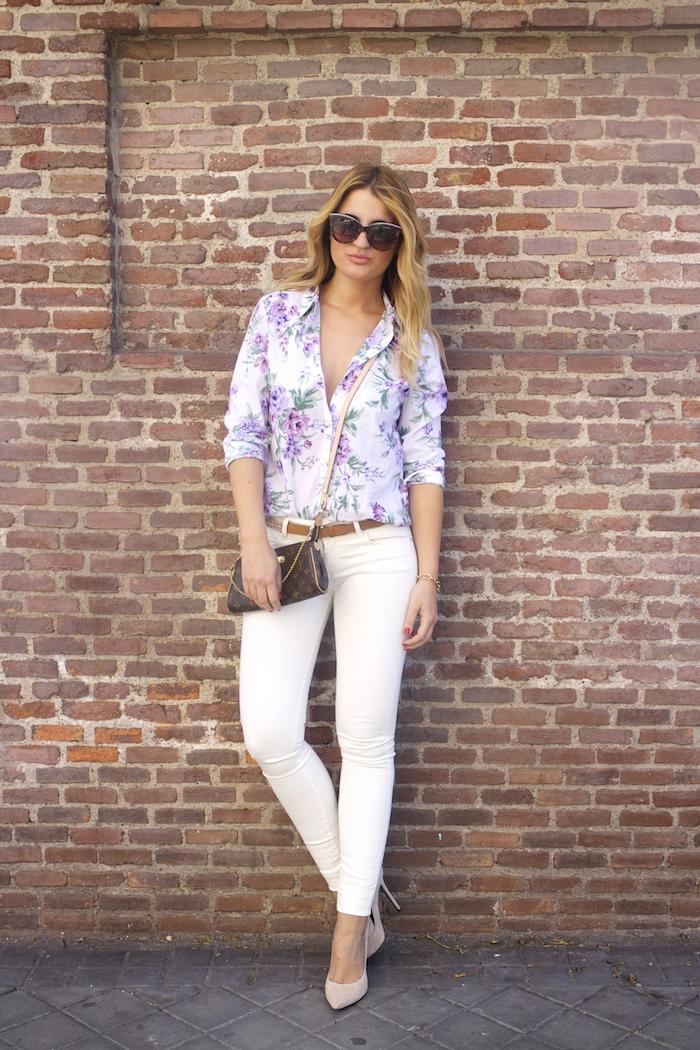 benetton flower shirt salsa jeans La redoute belt pochette eva louis vuitton amaras la moda. 2
