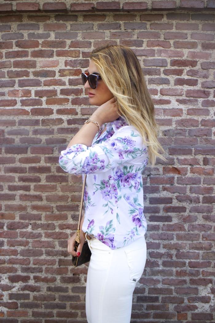 benetton flower shirt salsa jeans La redoute belt pochette eva louis vuitton amaras la moda. 3