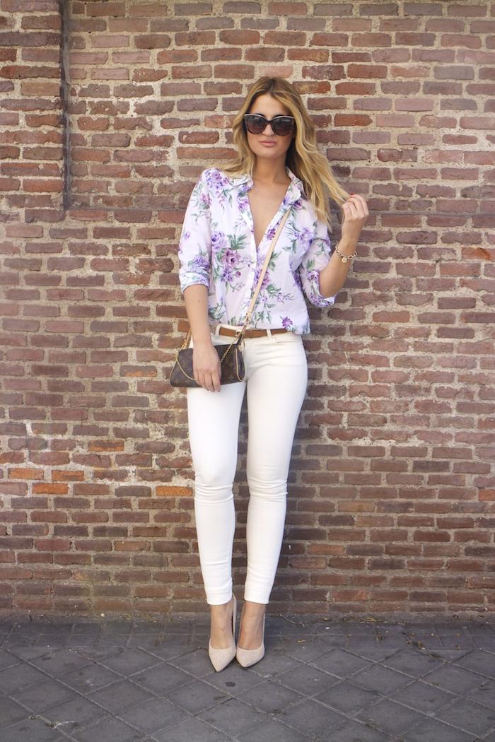 benetton flower shirt salsa jeans La redoute belt pochette eva louis vuitton amaras la moda. 6