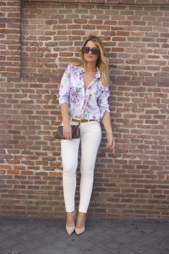 benetton flower shirt salsa jeans La redoute belt pochette eva louis vuitton amaras la moda. 8