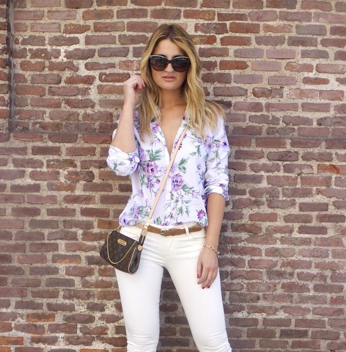 benetton flower shirt salsa jeans La redoute belt pochette eva louis vuitton amaras la moda. 9