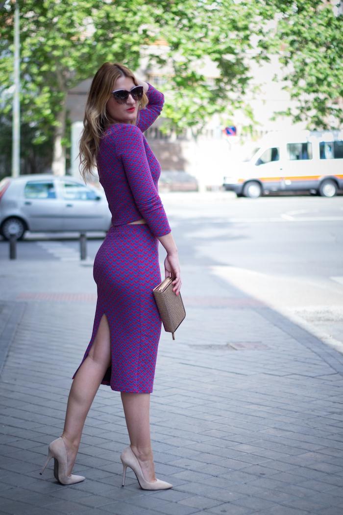 croptop midi skirt amaras la moda fashion pills stilettos chloe borel 6