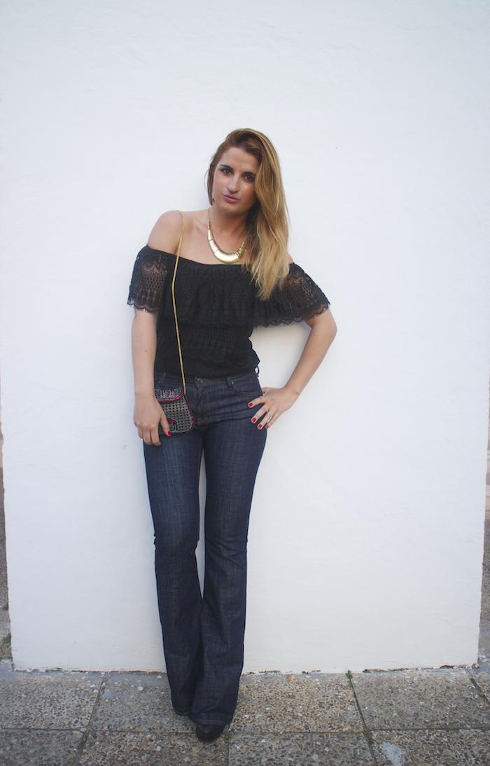 pantalón campana Zara primark, amarás la moda 6