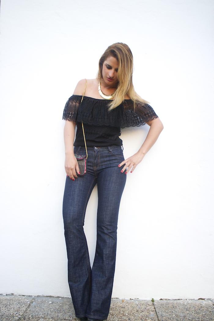 pantalón campana Zara primark, amarás la moda