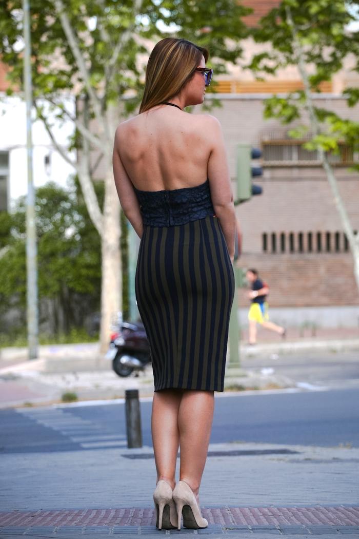 Stripped Skirt amaras la moda chloe borel shoes la redoutte trench 8