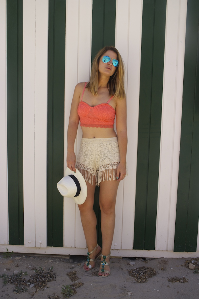 fashion pill shorts forever 21 top amaras la moda 2
