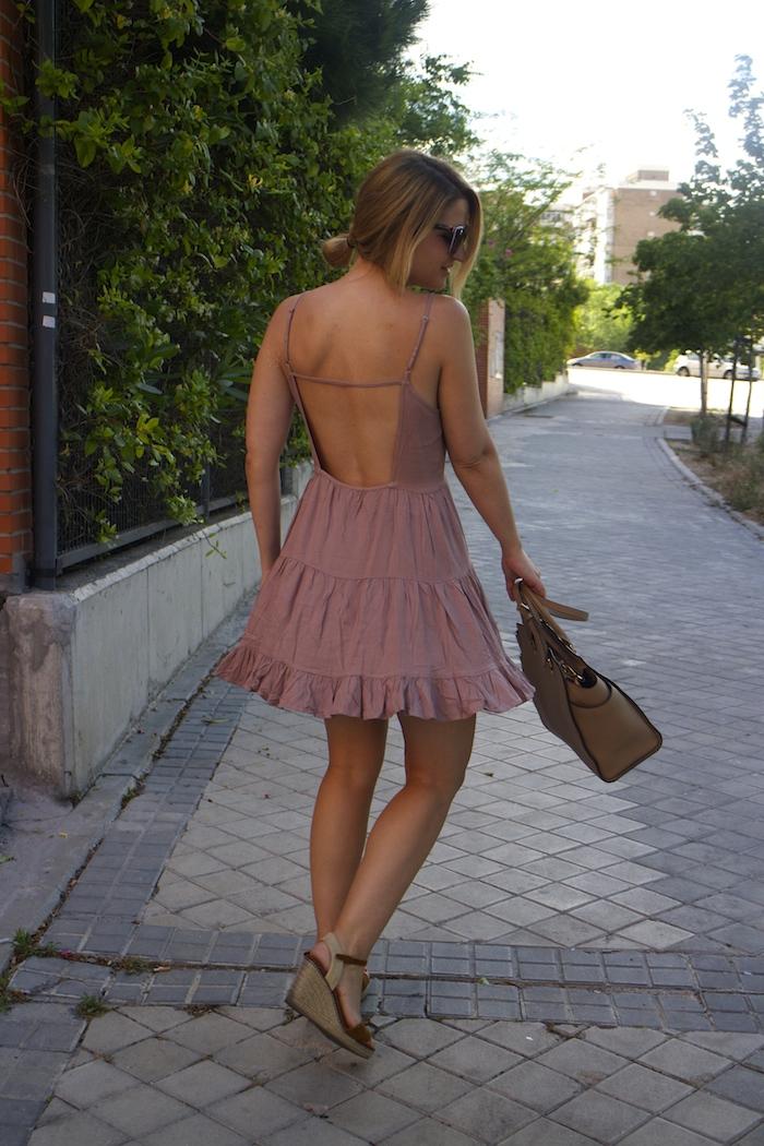 vestido espalda fashion pills amaras la moda