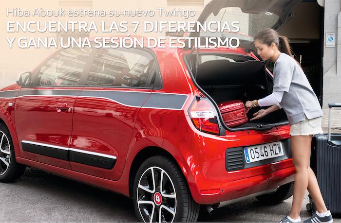 hiba Abouk sorteo Nuevo Renault Twingo Amaras la moda 2