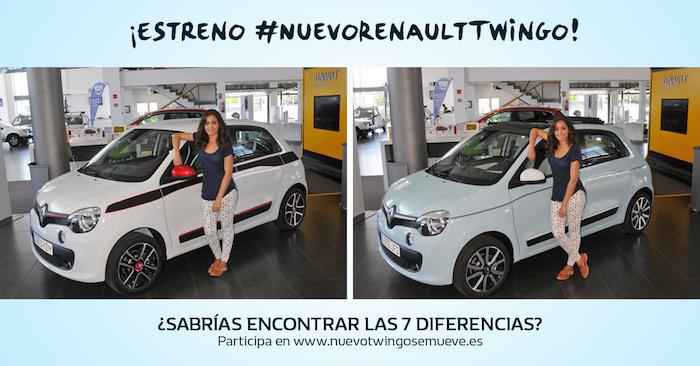 hiba Abouk sorteo Nuevo Renault Twingo Amaras la moda