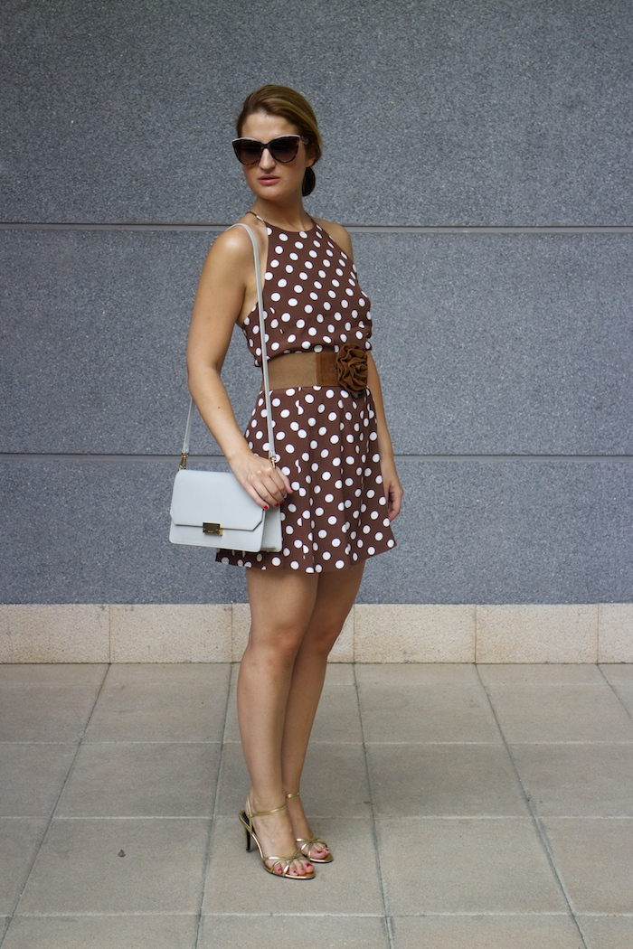 pretty woman dress Zara Ecco bag amaras la moda 3