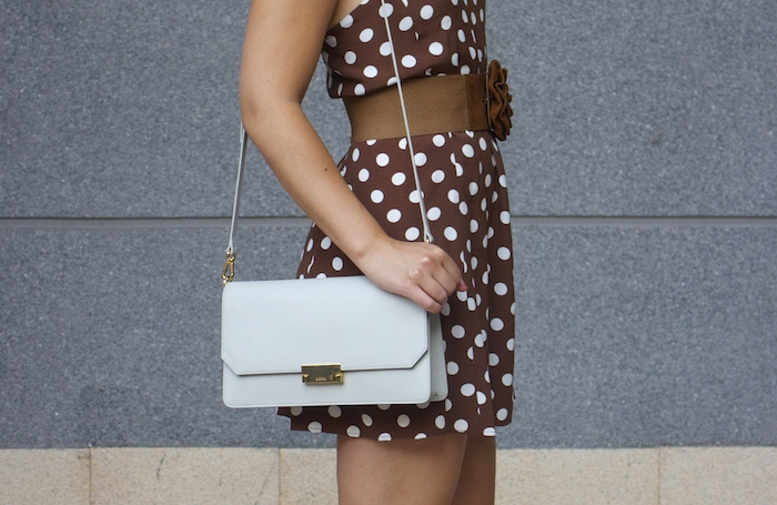 pretty woman dress Zara Ecco bag amaras la moda 4