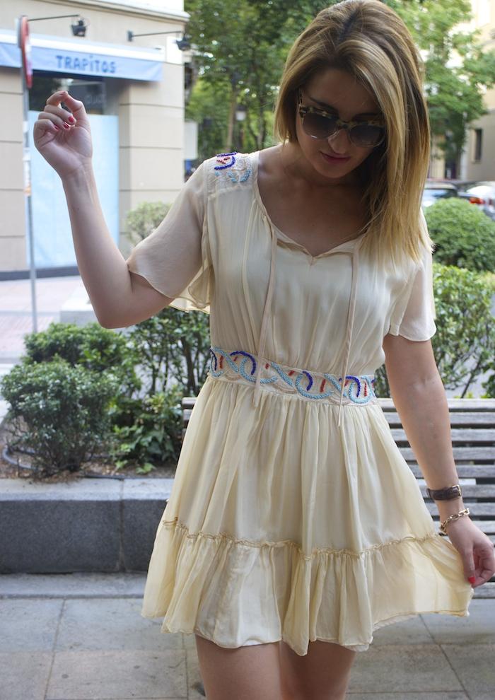 vestido bdba gucci sunnies Miu Miu bag Amaras la moda paula fraile 5