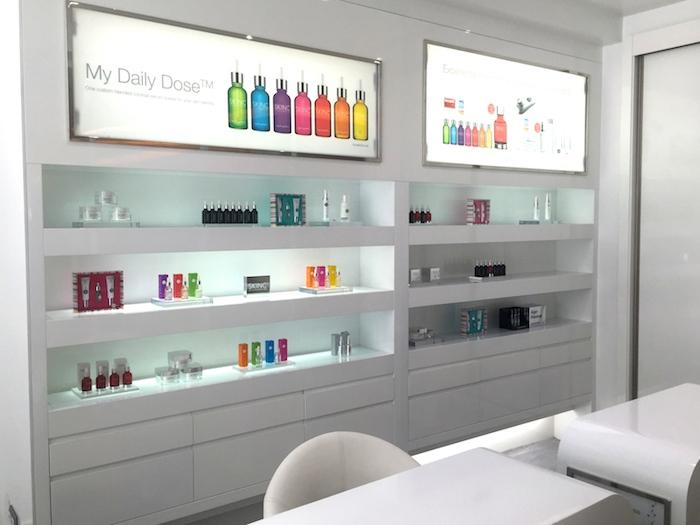 Blissbooker amaras la moda Skin inc hotel Me Madrid beauty 5