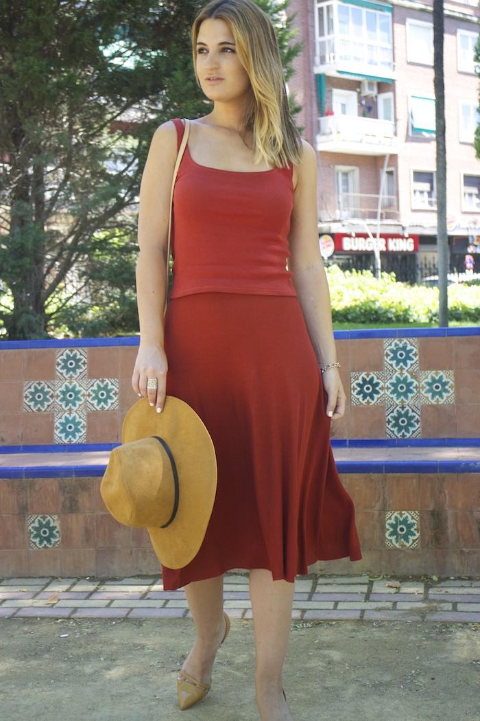 amaras la moda conjunto punto sombrero ante louis vuitton bag amaras la moda paula fraile. 3