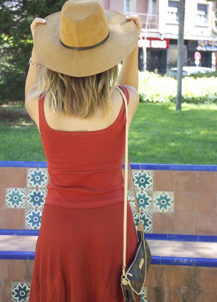 amaras la moda conjunto punto sombrero ante louis vuitton bag amaras la moda paula fraile. 4