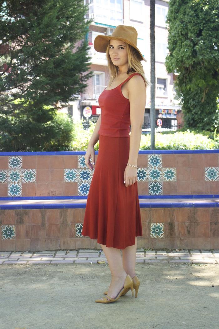 amaras la moda conjunto punto sombrero ante louis vuitton bag amaras la moda paula fraile. 5