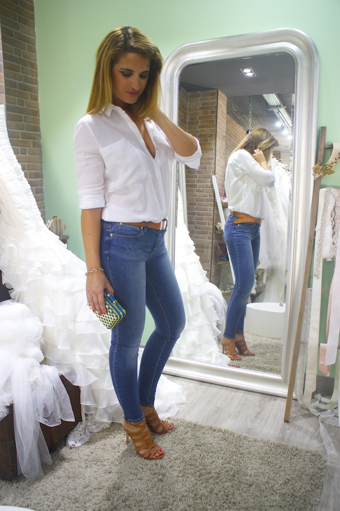 básicos jeans michael kors camisa zara sandalias justfab amaras la moda 2