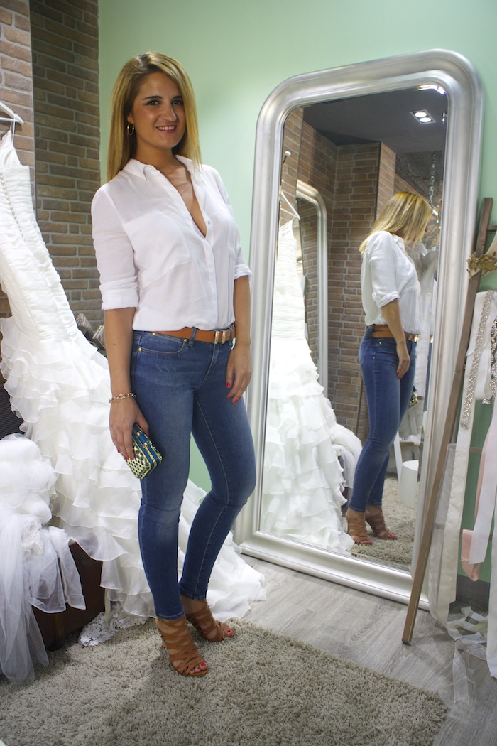 básicos jeans michael kors camisa zara sandalias justfab amaras la moda 3