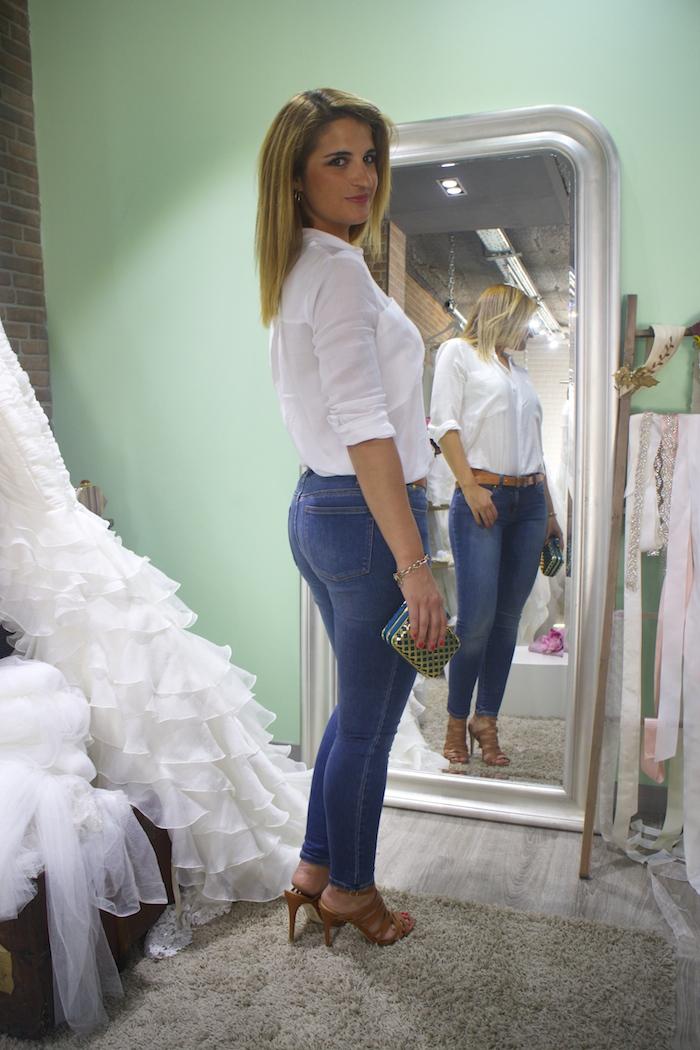básicos jeans michael kors camisa zara sandalias justfab amaras la moda 5