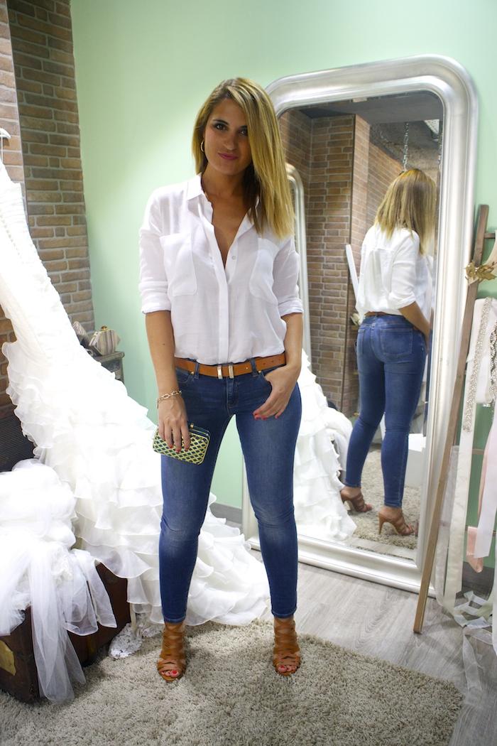 básicos jeans michael kors camisa zara sandalias justfab amaras la moda