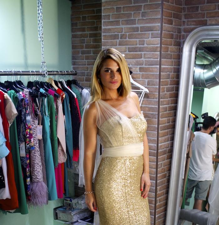 me pido este vestido amaras la moda Paula Fraile. 2