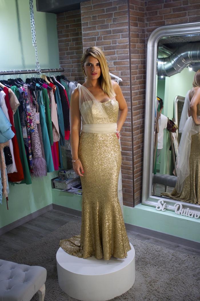 me pido este vestido amaras la moda Paula Fraile. 3