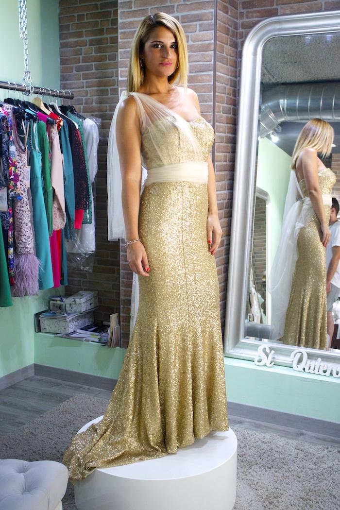 me pido este vestido amaras la moda Paula Fraile. 5