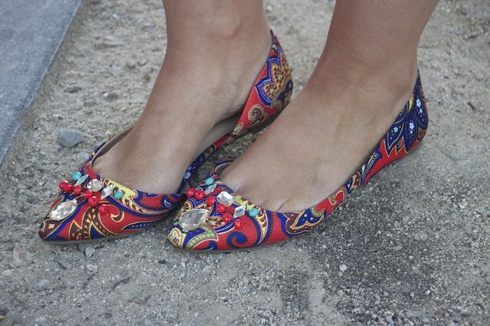 skirt bailarinas JustFab michael kors bag prada sunnies amaras la moda. 4