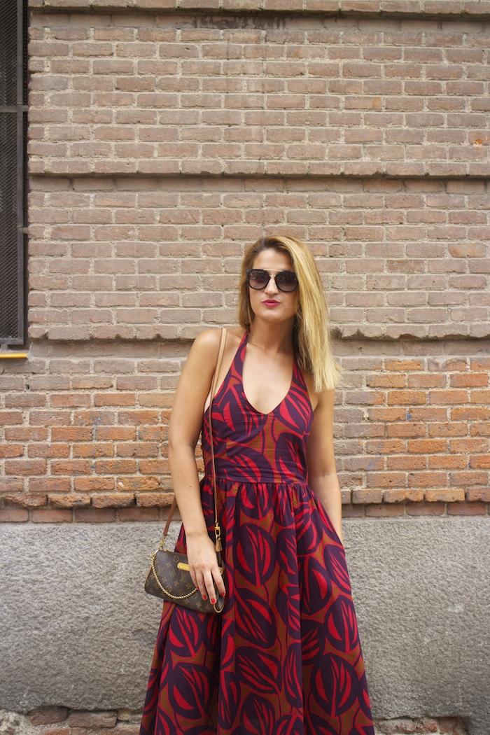 vestido La Redoutte Amaras la moda cuñas gaimo louis vuitton ba 2