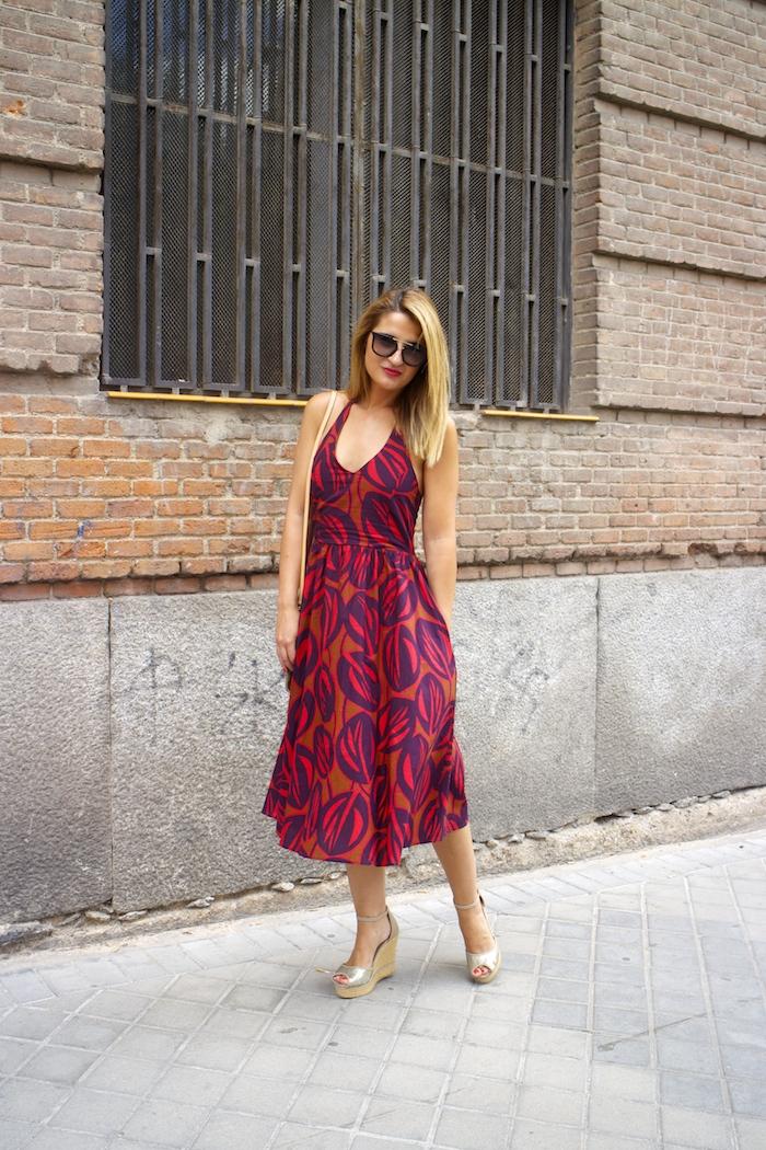 vestido La Redoutte Amaras la moda cuñas gaimo louis vuitton ba 3