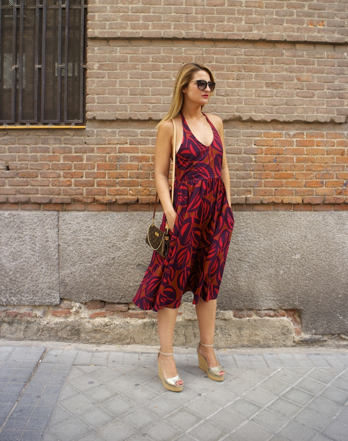 vestido La Redoutte Amaras la moda cuñas gaimo louis vuitton bag 4