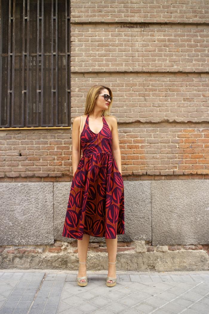 vestido La Redoutte Amaras la moda cuñas gaimo louis vuitton bag