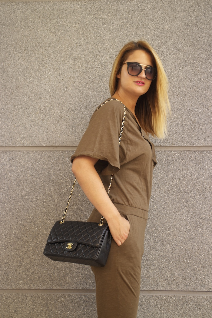 voyage jumpsuit amaras la moda chanel bag chloe borel stilettos Prada sunnies Optica Roma 4