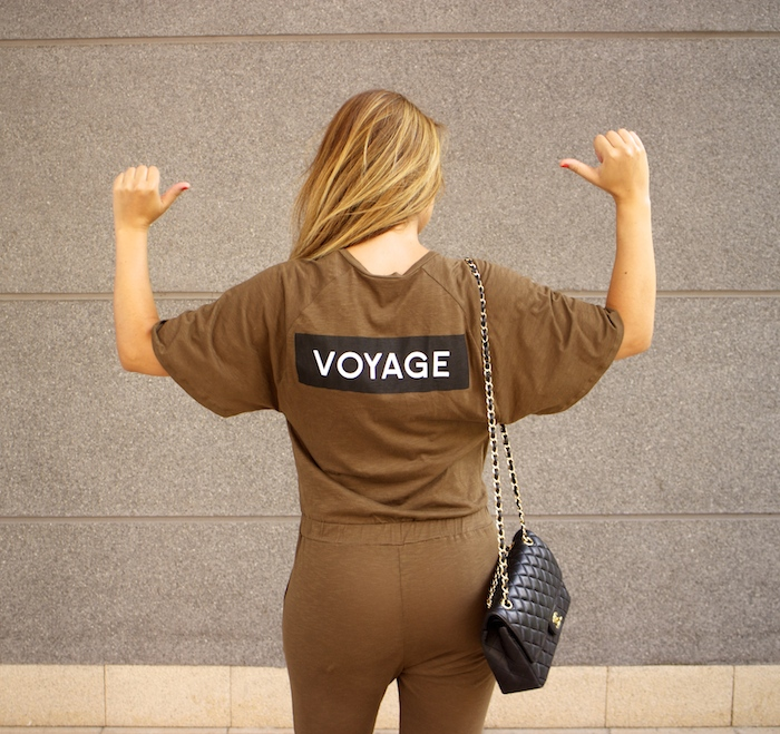 voyage jumpsuit amaras la moda chanel bag chloe borel stilettos Prada sunnies Optica Roma 6