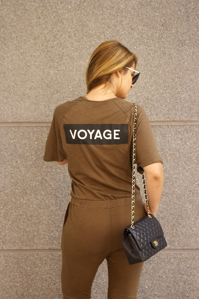 voyage jumpsuit amaras la moda chanel bag chloe borel stilettos Prada sunnies Optica Roma 8