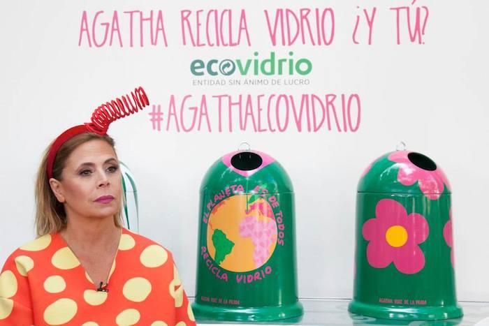 Ecovidrio agatha ruiz de la prada amaras la moda Paula Fraile