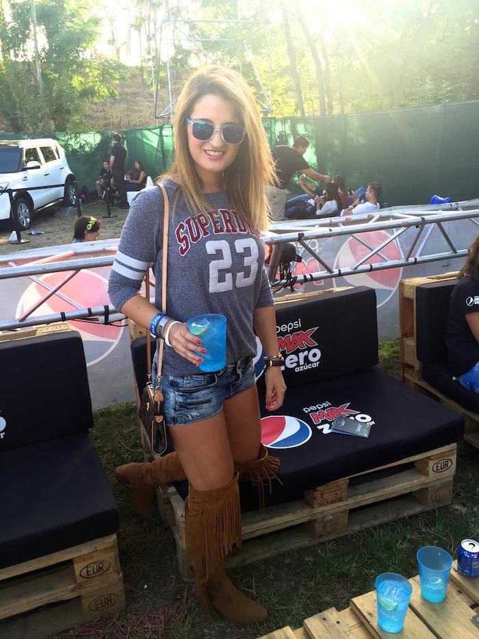 dcode festival Paula Fraile Amaras la moda Pepsi4