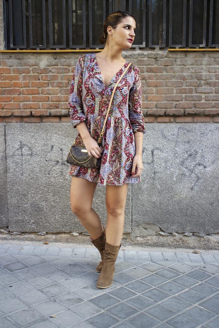 Boots chloe borel Fashion Pills DRESS Paula Fraile Amarás la moda Louis Vuitton bag 3
