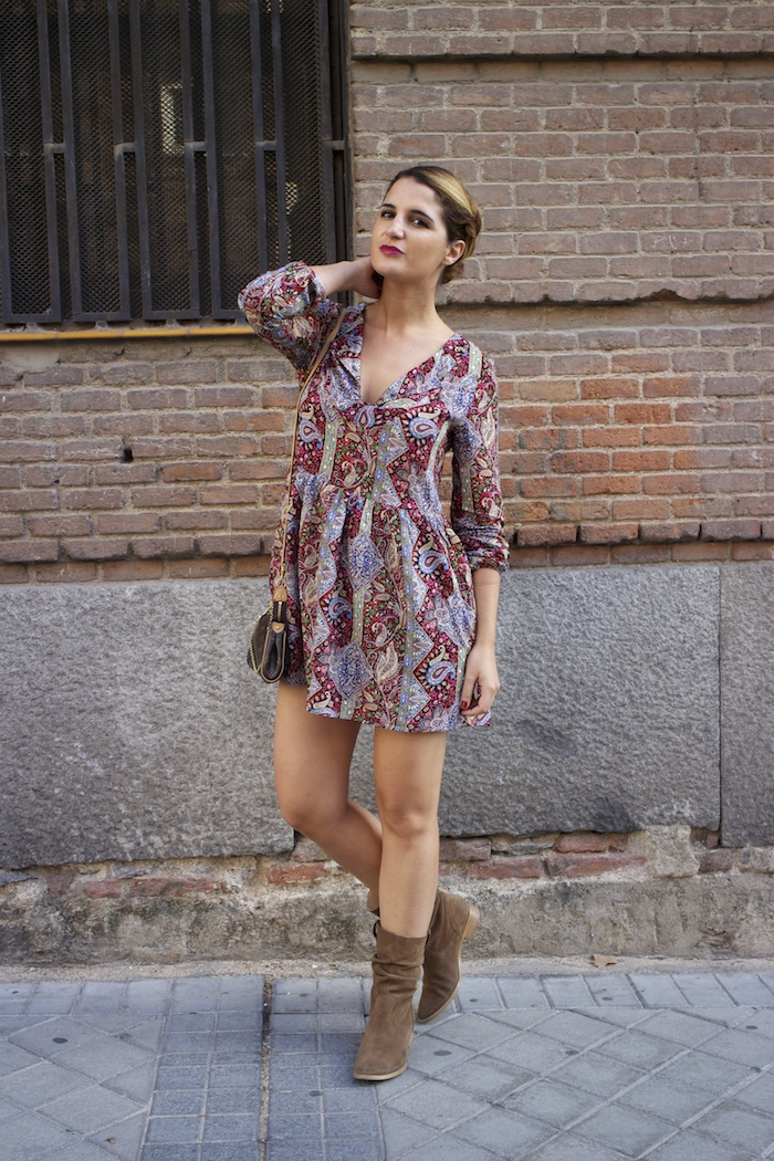 Boots chloe borel Fashion Pills DRESS Paula Fraile Amarás la moda Louis Vuitton bag 5