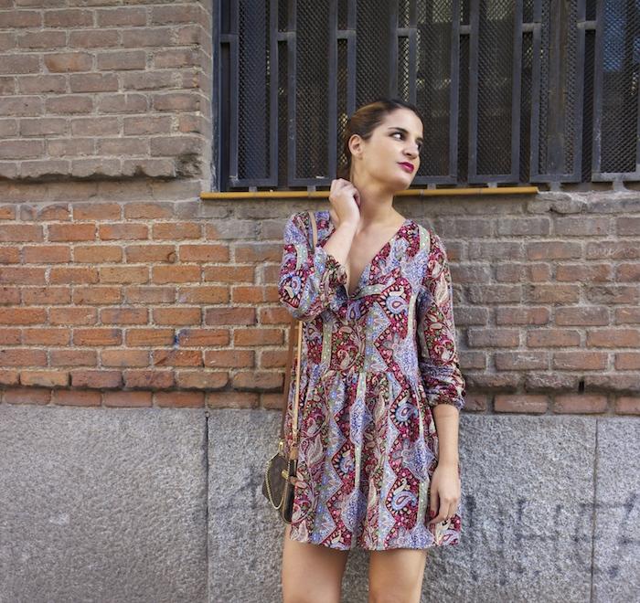 Boots chloe borel Fashion Pills DRESS Paula Fraile Amarás la moda Louis Vuitton bag 6