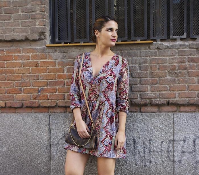 Boots chloe borel Fashion Pills DRESS Paula Fraile Amarás la moda Louis Vuitton bag 8