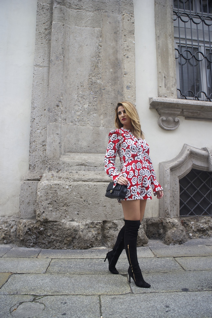 Tara Jarmon Madrid jumpsuit flowers Amarás la moda Paula Fraile3