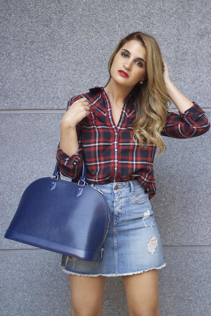 louis vuitton bag La Redoute shirt amaras la moda Paula Fraile 4