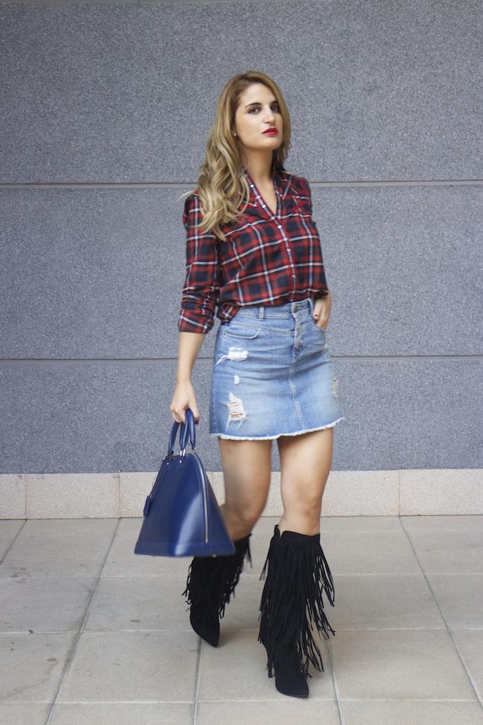louis vuitton bag La Redoute shirt amaras la moda Paula Fraile 5