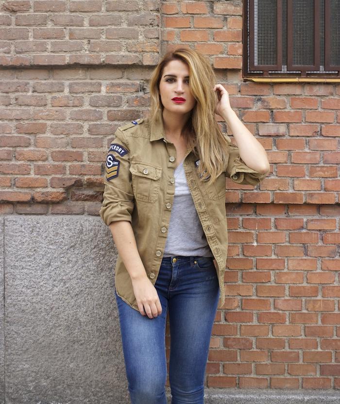 superdry jacket michael kors jeans louis vuitton bag